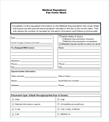 8+ Sample Generic Fax Cover Sheets | Sample Templates