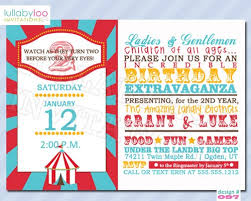 Circus Party Invitation Fascinating Circus Theme Invitation Tomburmoorddinerco