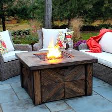 gas fire pit table best natural gas fire pit table global outdoors propane set with within gas fire pit table