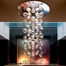 get ations ben choi door modern minimalist crystal bubble glass chandelier living room restaurant hotel by the clothing