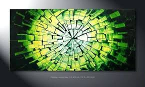 wall arts green wall art ready to hang green wall art hand painted spiral tone on lime green metal wall art uk with wall arts green wall art ideas wall art canvas print 2 green wall