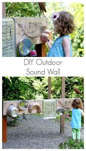 Backyard Design: DIY Outdoor Sound Wall/Music Station
