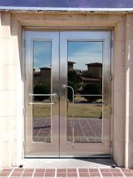 full glass front door decoration fancy double steel entry doors or full glass entrance doors of