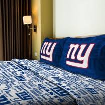 New York Giants NFL Bedding Sets & Football Team forters at