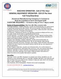 Crane Operator Resume Objective Virtren Com