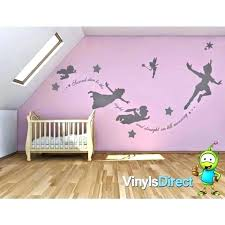 peter pan stickers peter pan stickers peter pan shadow wall decal and peter pan wall decal