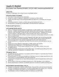 Staff Auditor Resume Sample Lovely Sample Accounting Resume Skills
