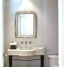 powder room light fixtures powder room chandelier gray powder room with silver beaded mirror powder room