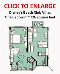 disney boardwalk villas floor plan boardwalk villas one bedroom floor plan boardwalk villas