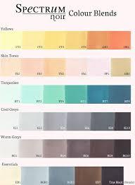 Spectrum Noir Marker Chart Pin On Color Me