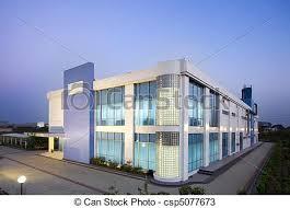 modern office exterior. Modern Office Center - Csp5077673 Exterior O