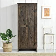 wardrobe armoire the gray barn brown inch storage cabinet large wardrobe closet armoire