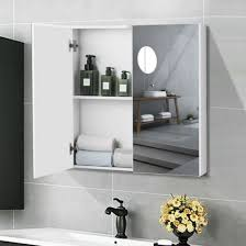 2 tier wall mounted storage cabinet