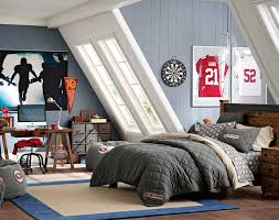 Small Picture Teenage Guys Bedroom Ideas Football Inspired PBteen Cole