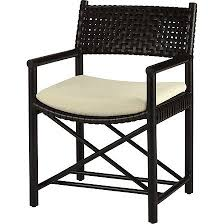 McGuire Furniture Hexagonal Dining Table In Black Bamboo No BA17Mcguire Outdoor Furniture