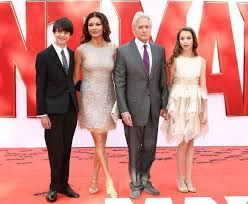 Her parents named their daughter after her two grandmothers. Catherine Zeta Jones And Family Mirror Online