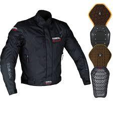 richa pinto short sports motorcycle jacket and back protector