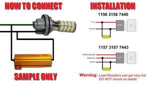 led load resistor wiring diagram led image wiring 4pcs 50w 6rj led load resistor decoder fix error code hyper flash on led load resistor