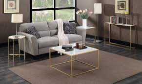 hover to zoom gold coast faux marble end table
