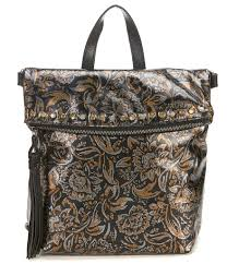 patricia nash women tri color metallic collection luzille backpack fully lined 05644729 uvftgpp