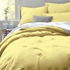 Washed Silk Quilt + Shams - Citrus Yellow | west elm & Washed Silk Quilt + Shams - Citrus Yellow Adamdwight.com