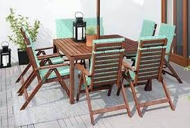 wood outdoor dining table outdoor dining furniture chairs sets intended for wood table plans 7 faux wood outdoor