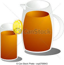 iced tea pitcher clipart. Plain Clipart Ice Tea Illustration In Iced Pitcher Clipart I