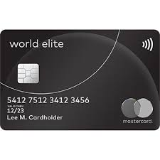 World Elite Mastercard Travel Rewards Credit Cards