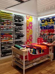 Fabric Store Interior Design Marimekko Fabric Shop Display Sewing Room Organization