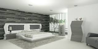 Luxemburg - Modern White Bedroom Set from Splyn