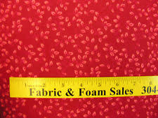 Moda Pondicherry Pearl Red 108  Wide Quilt Backing Fabric by The ... & 108