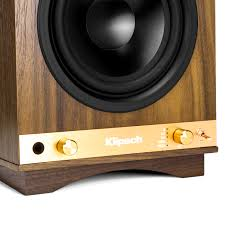 klipsch powered speakers. the sixes controls klipsch powered speakers