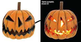 large outdoor lighted pumpkins lighting s