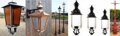 exterior lighting lanterns and lamp posts