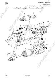 jcb 3cx starter motor wiring diagram wiring diagrams jcb 3cx 4cx 214e 214 215 217 loader backhoe service manual