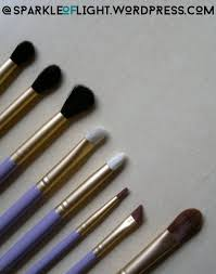 sparkleoflight makeupaddiction glam me up eye set brushes hair and makeup make up addiction brush set review
