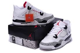 jordan 4 retro. air jordan 4 retro white cement black red new arrival
