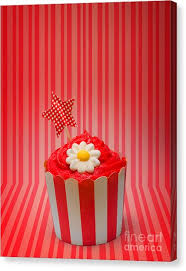 junk food canvas print retro cupcake with star and flower icing by jorgo photography  on cupcake canvas print wall art with junk food canvas prints page 2 of 36 fine art america