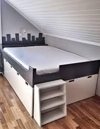 storage bed ikea hack. IKEA Hack Stuva Storage Bench Kids Bedroom DIY Grey And White Nursery Bed Ikea I