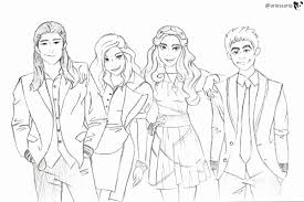 Descendants Coloring Pages To Print At Getdrawingscom Free For