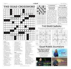 Decorative Pitchers Crossword The Quad 100100 by The Quad issuu 68