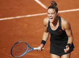 French Open: Maria Sakkari wirft Vorjahresfinalistin Sofia Kenin raus - DER  SPIEGEL