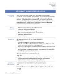 Brilliant Ideas Of Assistant Restaurant Manager Job Description