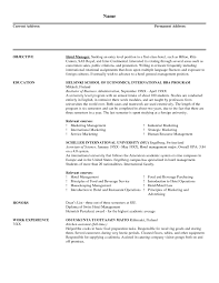 beaufiful marketing manager resume examples images casino