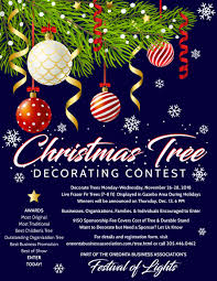 Images christmas decorating contest Church Sponsored By The Oneonta Business Association The Festival Of Lights Tree Contest Involves The Display Of Live Christmas Trees In Downtown Oneonta In The Oneonta Business Association Christmas Tree Contest Oneonta Business Association