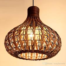rattan bamboo chandelier lighting bar cafe restaurant southeast garden style teahouse rattan bamboo weaving southeast asia with 110 72 piece on