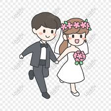 cute cartoon couple png image picture