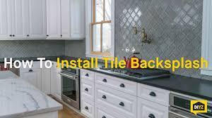 gallery of install backsplash