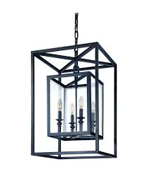 terrific large foyer chandeliers modern foyer chandeliers rectangle black side chandeliers with black lamp