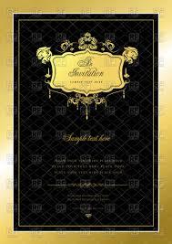 royal invitation template com invitation template luxurious golden royal frame ornate wedding invitation